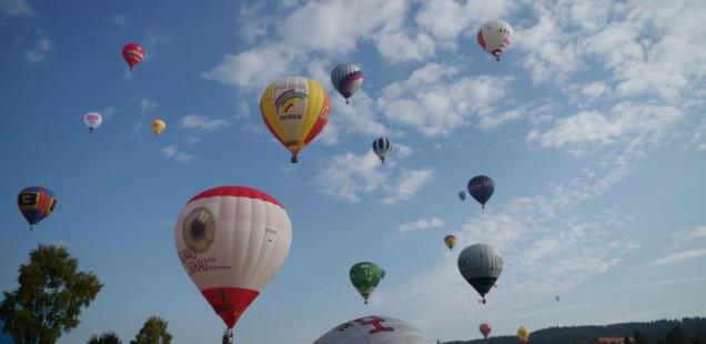 """Fuchsjagd"" Ballonfestival in Bad Dürrheim am 7.09.2014"