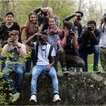 Fotoausflug mit jungen Flüchtlingen